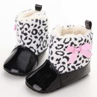 Buy cheap New fashion PU Leather upper Bowknot girl 0-2 years Princess baby shoes girl from wholesalers