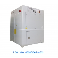 Quality PTFE Membrane Filter 9500M3/H Plasma Fume Extractor for sale