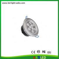 Buy cheap 9W adjustable angle LED ceiling lights with external driver and 1W Epistar LED product