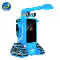 Quality 360 Degree VR Arcade Machines , Virtual Reality Simulator Easy Operate for sale