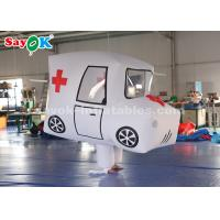 Buy cheap Giant Custom Inflatable Products  Ambulance Model For Promotion from wholesalers