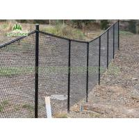 Buy cheap Galvanized Chain Link Wire Fence 2.5mm Wire Diameter For Sports Field / School from wholesalers