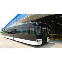 Wholesale Full aluminum body airport apron bus with 110 passengers capacity and 14 seats from china suppliers