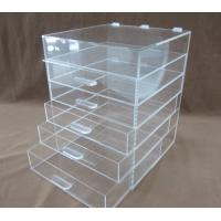 Buy cheap Customized Makeup Cosmetic  Plastic Display Stand 120 * 2200 * 200mm from wholesalers