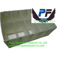 Buy cheap white/black/blue/green color polypropylene corrugated  plastic divider sheet for packing industry from wholesalers
