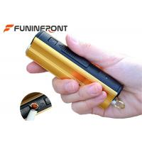 Micro USB Charge LED Flashlight with Cigarette Lighter, Ultra Bright LED Torch Manufactures