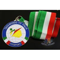 Wholesale Taekwondo Racing Marathion Swiming Custom Sports Medals Soft Enamel Transparents Color from china suppliers