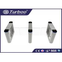 RFID Card Reader Swing Barrier Gate / Access Control Barriers And Gates