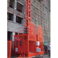Buy cheap 2000 / 2000 kg * 2 Construction Hoist Elevator with Lifting Height 150 m from wholesalers