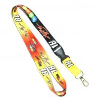 Buy cheap Polyester Heat Transfer ID Neck Lanyard For Badge Holder from wholesalers