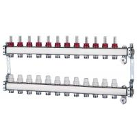 China Art 700 N+1 stainless steel intelligent water manifolds set for underfloor heating on sale