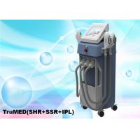 Buy cheap 3500W Vertical 3 Options E light Beauty Machine SHR IPL Nd Yag TruMED 12 Languages from wholesalers
