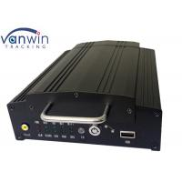 Buy cheap 4CH / 8CH Mobile vehicle DVR , Wireless SD Card 3G H.264 DVR PTZ Control from wholesalers