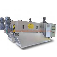 Buy cheap ISO9001 Dewatering Screw Press Machine For Printing And Dyeing Industry from wholesalers