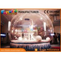 Wholesale Custom Christmas Inflatable Human Snow Globe For Christmas Decoration from china suppliers
