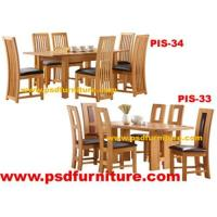Buy cheap Dining room furniture oak table wooden chair from wholesalers