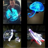Buy cheap Electronic Hologram Projector 3D LED Holographic Advertising Display Fan 42cm Diameter from wholesalers