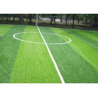 Buy cheap Durable No Dazzling Upright Diy Synthetic Grass / Football Field Grass from wholesalers