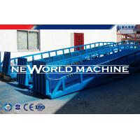 Wholesale Blue 6T Hydraulic Lift Platform / Mobile Loading Dock Ramp Leveler from china suppliers
