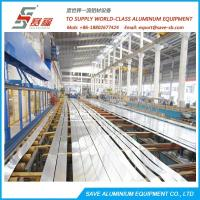 Wholesale Aluminium Profile Extrusion Efficient Air Cooling Run-out Area from china suppliers