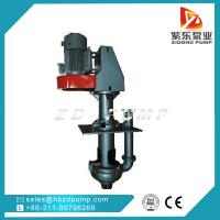 Buy cheap SPR rubber lined slurry pump submerged dewatering pump vertical sump pump from wholesalers