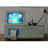 Wholesale 5208D Automatic Low Temperature Closed Mouth Flash Point Tester from china suppliers