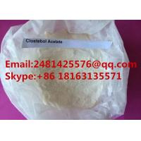 Buy cheap Raw Steroid Hormone powder Clostebol acetate / Turinabol For Man Muscle Growth from wholesalers