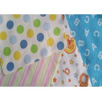 Buy cheap Pure Cotton Flannel Fabric Printed Flannel Cartoon For Pyjamas With Waterproof from wholesalers