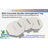 Buy cheap RFID Cement Tracking Management Tag, RFID Concrete Quality Management Tag from wholesalers