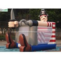 Wholesale Fire Retardant Toddler Inflatable Bouncing Castle Of Pirate Jack Theme from china suppliers