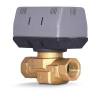 Buy cheap 2 Way / 3 Way Brass Motorized Zone Valve 1.6MPA For Cold And Hot Water product