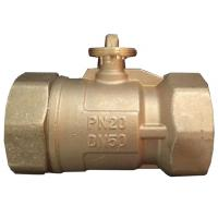 Buy cheap OEM & ODM 3 Way Electric Ball Valve , Brass Electric Actuated Ball Valve from wholesalers