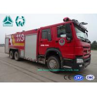 Wholesale Howo 266 Hp Emergency Rescue Fire Fighting Truck  6 X 4 With High Pressure Pump from china suppliers
