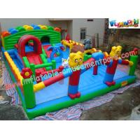 Buy cheap Durable Inflatable Amusement Park With Waterproof 0.55mm PVC Tarpaulin For Home product
