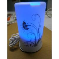Buy cheap Tabletop Humidifier, Ultrasonic Essential Oil Diffuser With Blue Led Light from wholesalers
