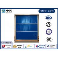 Wholesale 3400X 3400 mm Inorganic Cloth  Fireproof Roller Shutters /Guide Rail Depth 55 mm/ 3 Hours Fire Rating from china suppliers