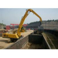 Buy cheap Mechanical Clamshell Grab Bucket Excavator Spare Parst For Material Handler from wholesalers