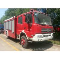 Wholesale Offroad 4X4 Rescue Fire Truck With 3000 Liters Water Tank 1500 Liters Foam from china suppliers