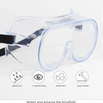 Buy cheap coronavirus protective anti virus eye glassed, protective goggles Anti-Fog Protective Safety Glasses from wholesalers