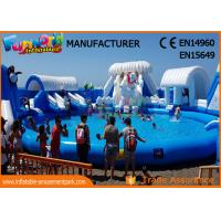 Wholesale Digital Printing Inflatable Water Parks For Children EN15649 EN71 SGS from china suppliers