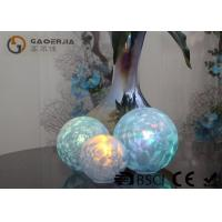 Wholesale Set Of 3 Glass Ball Lights Surface With Ice Like Finish OEM / ODM Available from china suppliers