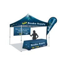 Buy cheap Advertising Craft Fair Canopy Tents UV Protection Waterproof Fire Resistance PVC Coating from wholesalers