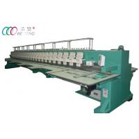 24 Heads Multi Heads Computerized Embroidery Machine 1000 RPM for Garment / lace Manufactures