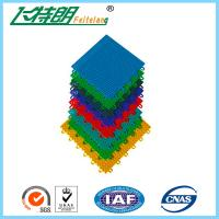 Wholesale PP Installation Rubber Interlocking Floor Mats For Tennis / Basketball Court from china suppliers