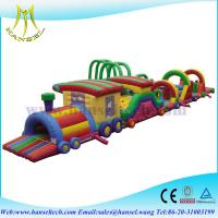 Buy cheap Hansel inflatable bouncer obstacle course playground for kids from wholesalers