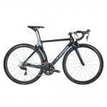 Buy cheap 700C Carbon Fiber Road Bike , Black Full Suspension Mountain Bike High Strength from wholesalers