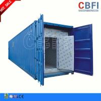 Buy cheap Refrigeration 20 Ft 40ft Container Cold Room / Freezer Shipping Containers For Fish Meat Storage from wholesalers