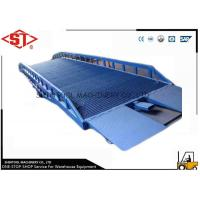 Buy cheap Load concrete loading dock ramps with oval anti skid sawtooth from wholesalers