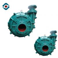 Buy cheap Single Stage Horizontal Industrial Slurry Pumps Dredge Pumps with Fluoro Plastic Rubber Lined from wholesalers