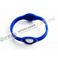 Wholesale Never Fade Blue Silicone Gel Products Watch Bracelet With Eye Style Design from china suppliers